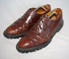 Rare Alfred Sargent Shoes Leather Made in England Shoemaker Mens Size 11 Vtg