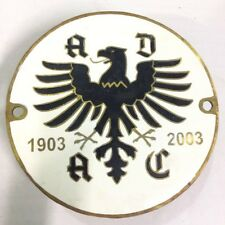 Wuerttemberg Heimat Rallye 1960 Badge Car Grill Badge Emblem Vehicle Parts & Accessories Automobilia Adac Germany