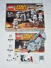 STAR WARS    LEGO 75078 IMPERIAL TROOP TRANSPORT   BATTLE PACK   +  BONUS