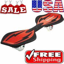 RipStik Ripster Carving Caster Board Skateboard Razor Rear Pivot 360Degre Red