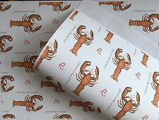 You're My lobster,wrapping Paper,gift Wrap, For Valentines Day