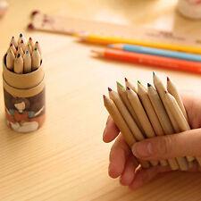 12 Farben/Set Malerei Skizzieren Bleistift professionell Zeichnung Pinsel Hot!!!