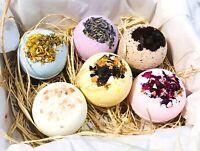 Bath Bomb Bath Bombs Gift Wrap Set Beauty Skincare Pure Essential Oil Vegan