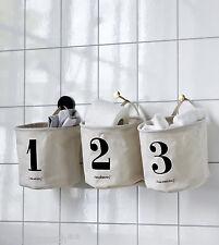 House Doctor 3er Set Korb Utensilo 1 2 3 Aufbewahrung Sortieren Wäschekorb