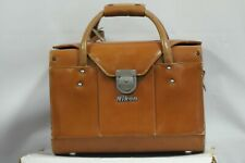 Nikon FB-11 Compartment Brown Leather Carrying Hard Case