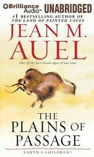 Earth's Children®: The Plains of Passage 4 by Jean M. Auel (2014, MP3 CD,...