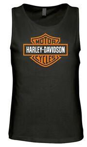 Harley Davidson vest t shirt Contrast design BRAND NEW, sizes S-5XL