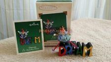 Hallmark 2002 Dream Paintbox Pixies Series Miniature Christmas Ornament