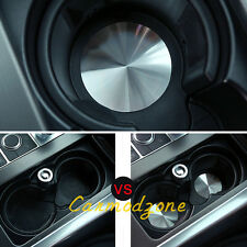 Interior Water Cup Holder Decoration Pad Cover Trim for Jaguar F-Pace X761 16-17