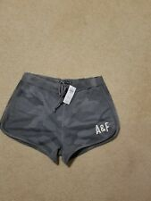 NWT Abercrombie & Fitch Active Shorts Grey Camo Medium
