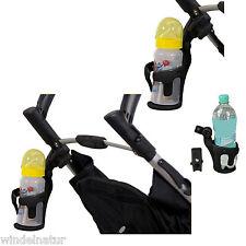 Schwarz BESPORTBLE 2 ST/ÜCKE Kinderwagen Mama Becherhalter Fahrrad Kinderwagen Rollstuhl Wagen Warenkorb Flaschenhalter