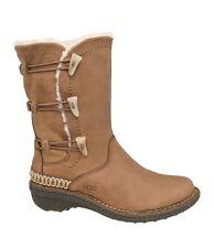 UGG® Australia Kona Elastic Toggle Leather Boots Women's Size US 5/ EU 36