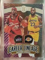 Lebron James 2019-20 NBA Illusions Career Lineage #'d 076/125 (2x) Case Hit SSP
