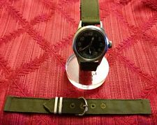 1940's USA MILITARY ISSUE Watch BAND Strap WWII World War 2 NOS 5/8-in (B0Brite)