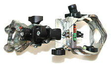 New TruGlo Rival Hunter DDP 3 Pin Bow Sight Realtree Xtra Camo TG5603J