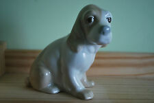 "Spanish Porcelain Figure ""Dog"" - Made in Valencia, Spain - Marked to Base   # 10"