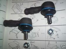 (x2) FORD Escort Mk3 Mk4 XR3 XR3i Turbo Van TRACK ROD ENDS (1980- 92)