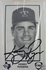 Kenny Rogers Autographed Fina Card