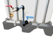 Schwanenhals DN 50 IBC Adapter Container Regenwassertonne Wasserfass GEKA