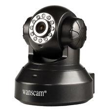 HD 1280*720P IR Cut Wireless WiFi Security Network IP Camera Night Vision Black