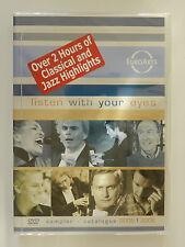 DVD Euroarts Listen with your eyes Sampler Catalogue 2005 2006 Neu