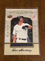 2008 Upper Deck Baseball Yankee Stadium Legacy #80 - Tino Martinez - Yankees