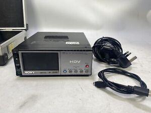 Sony HVR-M10E mini-DV HDV dvCam 1080i player/recorder