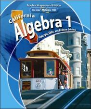 California Algebra 1 Concepts, Skills, and Problem Solving Teachers Wraparound