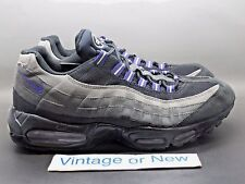 Men's Nike Air Max '95 Dark Shadow Medium Grey Purple 2011 sz 11.5
