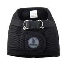 Worthy Dog Sidekick Harness Padded Mesh Breathable Fabric Pet Vest Black XXS