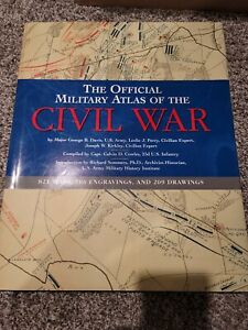 Official Military Atlas Of The Civil War - 821 Maps 106 Engravings & More
