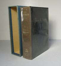 SIGNED James A Michener - The Source 1965 1st Edition #234/500 Jewish History HC