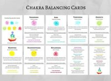 Chakra Balancing Cards tarot card deck chakra opening oracle spiritual healing