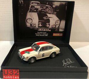 Scalextric passion SP030 Fiat 850 Coupé #6 Rallye Bayern 1968 W.Rohrl-H.maracek