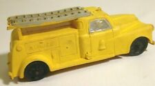Auburn Rubber Co. Toy Telephone Company Truck vintage rubber vibrant yellow