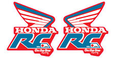 VINTAGE MOTOCROSS 1988-1989 HONDA CR HRC ON THE LINE RACING SHROUD DECALS