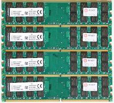 NEU 16GB (4 X 4 GB) DDR2 RAM PC2-6400 800 MHz RAM AMD Arbeitsspeicher Desktop PC