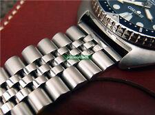 22mm Solid Steel Jubilee Replacement Bracelet For SRP773 777 SKX007 6309-7040