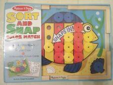 Mellissa & Doug Sort And Snap Color Match Fish