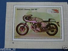 SMP018- DUCATI DESMO 750 SS  PICTURE STAMP ALBUM CARD,ALBUM PLAATJE