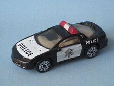 Matchbox Camaro Z-28 Police Negro Y Blanco Juguete Coche Modelo En Caja