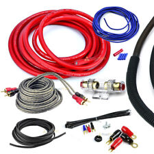 4 Gauge 2000 Watt Car Amplifier Installation Wiring Kit Amp Install