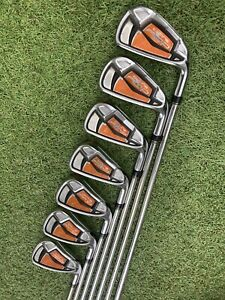COBRA AMP IRONS / 4-PW / DYNALITE 90 STIFF SHAFTS