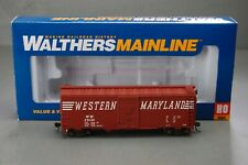Walthers Mainline HO Scale 40' AAR 1948 Boxcar Western Maryland #29134