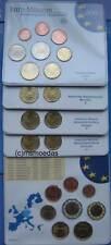 Deutschland Off. Euro KMS 2004 mit 1 Cent bis 2 Euro coins in 5 Blister ADFGJ BU
