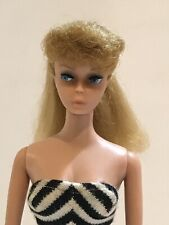 Vintage Blonde Barbie Ponytail with Rare Painted Legs - Beautiful - No Green