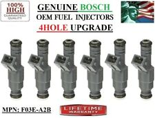 Set/6 NEW Fuel Injectors >YRS 90-91-92 Ford Probe 3L V6< Upgrade OEM BOSCH 4HOLE
