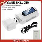 2 in 1 USB Bluetooth-compatible Dongle 3.5mm AUX Adapter Wireless Transmitt