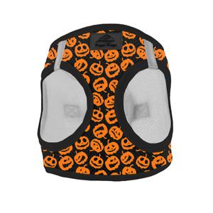 American River Choke Free Dog Harness Holiday Line - Halloween Jack-o-Lanterns