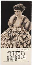 Salesman Sample Haloid Industro Photo by Glen Fishback Pinup Girl Christmas 1952